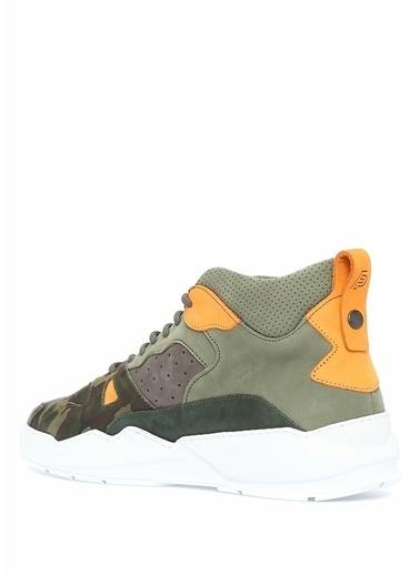 Filling Pieces Sneakers Yeşil
